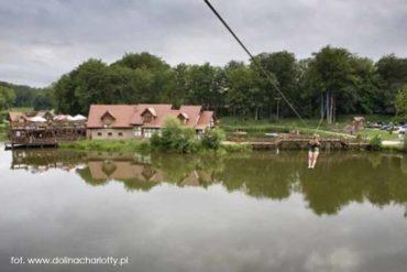 Park linowy w Dolinie Charlotty